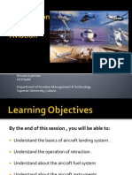 Landing Gear, Aircraft Fuel Systems - Lec 4