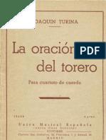 La oración del torero (4 cuerdas)_Turina