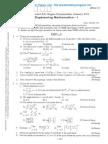 Engg Mathematics - 1 Jan 2011 New