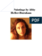 """Nine Paintings by Abby Heller-Burnham"""