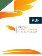 Informe Primeros 100 Días - Diputados Ciudadanos