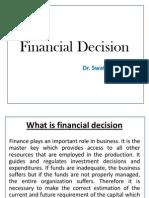 Financial Decision