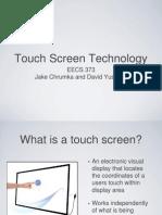 Touchscreens Final