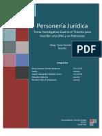 Tramite de Personalidad Jurídica de una ONG y Patronatos