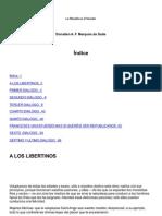 FILOSOFÍA DEL TOCADOR - MARQUÉS DE SADE