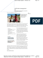 Afg Water Woes