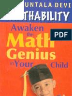 Mathability - Awaken the Math Genius in Your Child