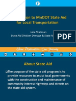 MnDOT State Aid for Local Governments presentation (February 11, 2013)
