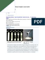 La goma arábiga-Chitosan Complex coacervación ACS