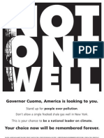 Anti-fracking ad in Des Moines register targets Cuomo