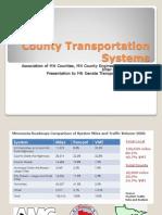 County transportation presentation (February 11, 2013)