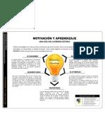 Analogía Motivación y Aprendizaje - Energía Eléctrica