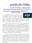 Apostles for Today - February 2013