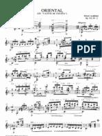Llobet, Miguel - Albéniz, Isaac - Op.232_2 - Oriental - cantos de españa (Llobet)