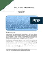 Globalization Its Impact on Indian Economy 540432932