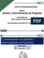 Gestion de Proyectos - CAP 1