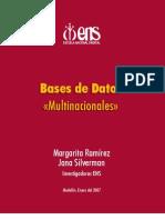 Base de Datos Multinacionales