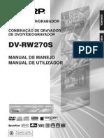 Manual Dvrw270s Om Es
