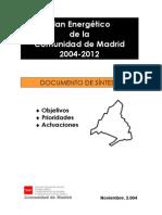 Plan Energetico CA Madrid
