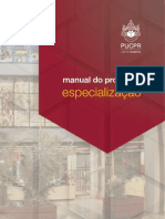 Manual do professor pos graduação