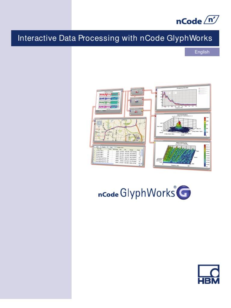 Glyphworks V8 Training Manual 2012 | Time Series | Spectral