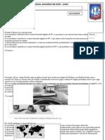 Avaliação de Geografia- Liceu - BIMESTRAL.doc
