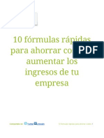 10 fórmulas rápidas para ahorrar costes y aumentar los ingresos de tu empresa (3)