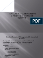 Contabilitatea Produselor Si Productiei in Curs de Executie