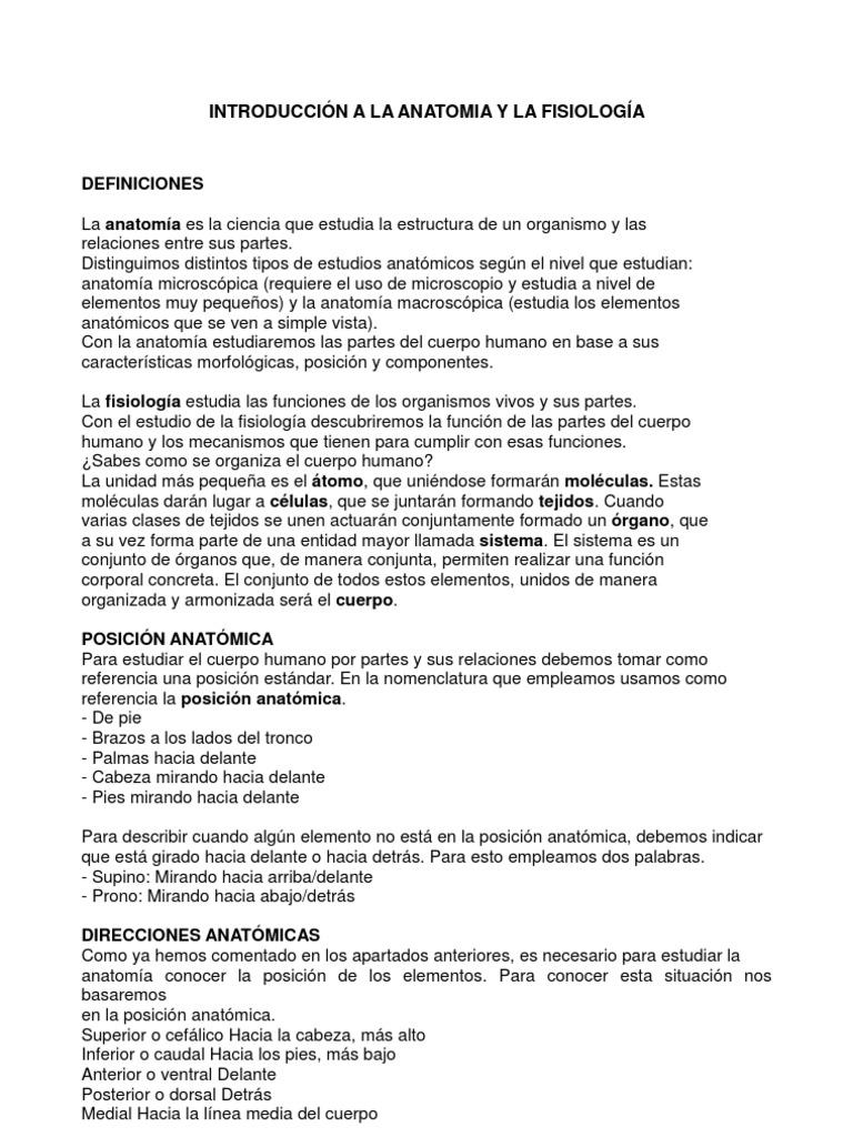 Moderno Cómo Estudiar Para Anatomía Y Fisiología Patrón - Imágenes ...
