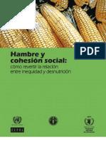 Hambre y Cohesion Social