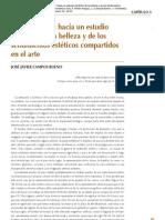 Neuroestética - José Javier Campos Bueno