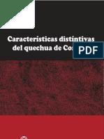 Características Distintivas del Quechua de Corongo - Daniel Hintz
