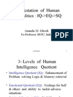 IQ .. EQ .. SQ [Manifestation of Human Potentialities]