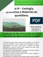 Trabalho de Geologia - Jessica Tavares, João Santos, Nicole Ribeira - 11º B