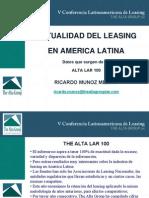 Actualidad Del Leasing en America Latina