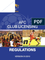Club Licensing Regulations 2010
