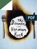 The Dinner by Herman Koch - Excerpt