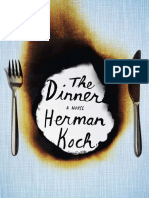 The Dinner by Herman Koch - Excerpt