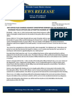 Dorner Riverside Charges