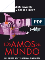 Los amos del mundo. Las armas del terrorismo financiero - Vicenc Navarro y Juan Torres López