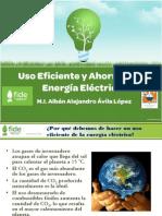 Ahorro y uso eficiente de la energía