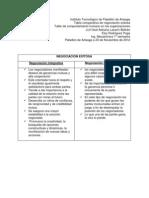 Tabla Comparativa Negociacion Exitosa