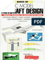 RC Model Aircraft Design