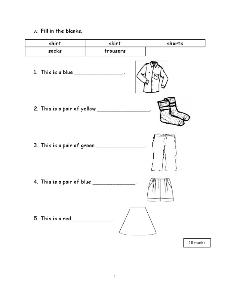 Kssr English Year 1 Worksheet Sjk C Workbooks Peekabook Com My
