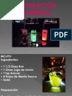 presentacion bebidas