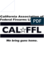 CAL-FFL to Town of Los Gatos - February 11, 2013