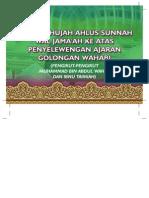 Senarai Hujah Ahlus Sunnah wal Jama'ah Ke Atas Penyelewengan Ajaran Golongan Wahabi