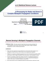 SAM Signal Processing Examples Statistical Signal Processing for Radar