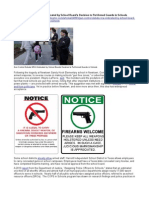 Gun Control Debate - NRA Vindicated by Newtown School Board's Decision to Put Armed Guards at Sandy Hook elementary and other Schools