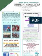 February Newsletter Birthright Taupo Inc.